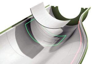 FRP 積層において Projection 技術(投影技術)は不可欠