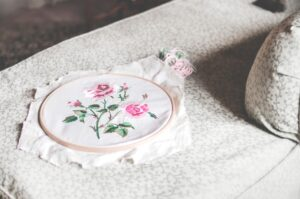 Tailored fiber placement is origined by embroidery
