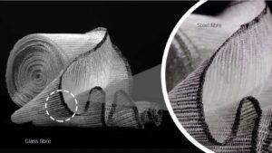 FAUSSTは金属繊維とガラス繊維のハイブリット